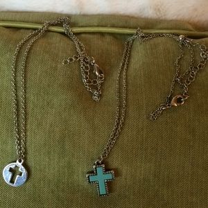 Jewelry - Two cross necklaces